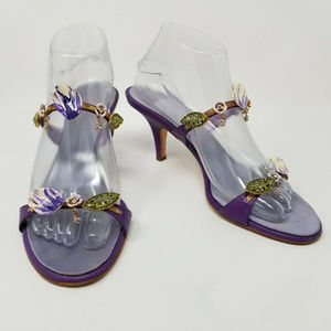 Giuseppe Zanotti Vicini Design Heel Sandal